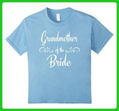 Kids Grandmother of the Bride Wedding Rehearsal T-Shirt 6 Baby Blue - Wedding shirts (*Amazon Partner-Link)