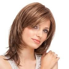Blonde Straight Classy Remy Human Hair Wigs are hot sale at WigWay Official Site. Modern styles, high quality human hair wigs are available online! Medium Layered Hair, Medium Hair Cuts, Medium Hair Styles, Curly Hair Styles, Short Hairstyles For Women, Wig Hairstyles, Straight Hairstyles, Brown Hairstyles, Haircut Styles For Women