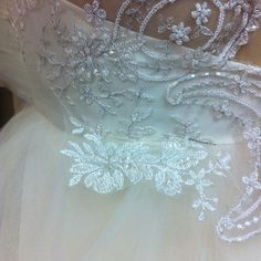 cool vancouver wedding Another afternoon of lace-appliqué and tulle - it's a beautiful #weddingseason at #manuelmendozacouture! This #frenchlace has a subtle silver thread stitched in for a little extra shimmer. #couture #madeinvancouver #wip #behindtheseams #handsewing #weddinginspiration  #vancouverwedding #vancouverwedding