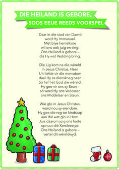 Die heiland is gebore Pre School, Sunday School, Afrikaanse Quotes, Small Minds, Vinyl Quotes, Christmas Music, Kids And Parenting, Bible Verses, Singing