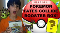 #VIDEO: #Pokemon XY Fates Collide Booster Box Opening - Part 1 of 2 - AWESOME PULLS! Jenna Em Channel  WATCH: https://youtu.be/3AH1GJjXaWI #Pokemon20