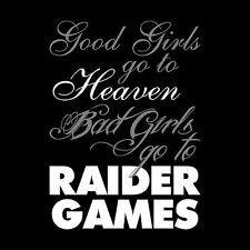 Bad girls go to Raider games