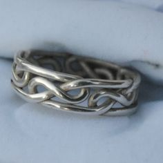 Infinity Celtic Knot Ring by D&O Celtic Jewelry
