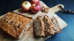 Koolhydraatarme appel-kaneelcake met walnoten