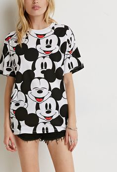 Mickey Mouse Tee   Forever 21 - 2000171925