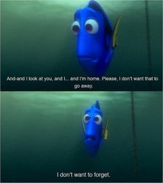 Dory from Finding Nemo quote