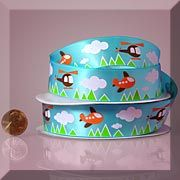 Toy Themed Printed Satin Ribbons