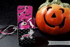 JanasBastelecke: Kreativer Montag 84 - Halloween-Schokoei-Verpackung