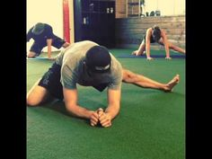 Hip mobility drills:  http://fightcampconditioning.com/3-hip-mobility-drills-for-mma-bjj-and-other-combat-athletes/