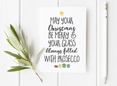 Personalised christmas card pack - Christmas cards - hand ...