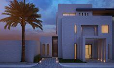 3800 m plot sea side private villa kuwait sarah sadeq architects