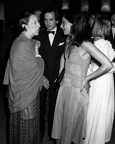 Diana Vreeland y Diane von Furstenberg