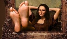 Let Gioconda have a rest!