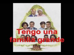 La Familia Grande - Barbara MacArthur - Spanish family vocabulary - YouTube