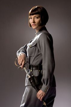 Cate Blanchett from Indiana Jones and the Kingdom of the Crystal Skull.
