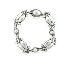 Bracelet | George Jensen.  Sterling silver
