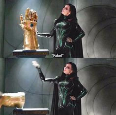 I screamed at this!  I'm like THATS THE FRICKING INFINITY GAUNTLET  YALL BUTTS R GONNA BE WOOPED BY THAT THING