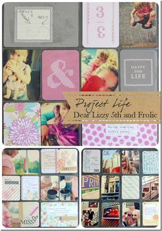 Project Life – My Beginning, with 5th and Frolic | Mama Miss #projectlife #PLatMichaels #scrapbook