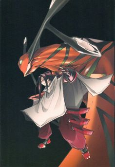 Shaman King: Hao/Zeke.... One of the few baddest of bad guys that I had such conflicted feelings for....