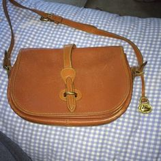 Dooney & Bourke purse Authentic!!! ~20 years old. Has some wear but sturdy. 10.5x7 inches Dooney & Bourke Bags Crossbody Bags