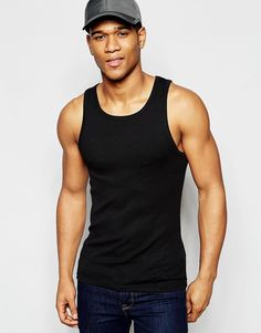 Image 1 ofSolid Ribbed Vest