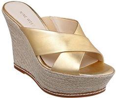 #NineWest                 #Women #Shoes             #espadrille #measurements #sandal #criss #banded #platform #slide #cross      DASHALL                   Criss cross banded espadrille slide sandal. Measurements: wedge 4 1/4 and platform 1 3/4.               http://pin.seapai.com/NineWest/Women/Shoes/1133/buy