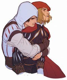 Leonardo da Vinci & Ezio Auditore da Firenze || Assassin's Creed