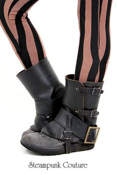 Spats and gaiters for shmancy shoe coverage | Offbeat Bride
