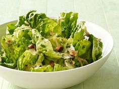 Great spring salad- was fortunate enough to have both green and red butter lettuce.