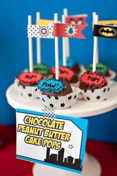 Fantastic Comic Book Superhero Party {6th Birthday}