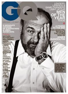 James Gandolfini ❤️ I seriously have the biggest crush on him. He is an amazing actor & I will forever love him, as his memory lives on. You sir, are a legend!