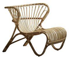 Fauteuil Fox Lounge / Réédition 1936 Naturel - Sika Design