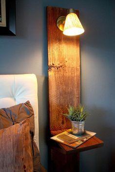 12 ideias de criados mudos para pequenos espaços