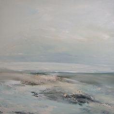 Saltwater. 76cm x 76cm, oil on canvas. Dion Salvador Lloyd