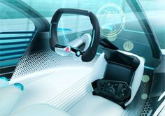 Toyota FCV Plus Concept Interior - Cockpit link: