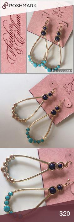 Theodora & Callum | earrings Beautiful chandelier earrings from hip designers Theodora & Callum, a brand seen on everyone from Julia Roberts to Blake Lively. NWT. Theodora & Callum Jewelry Earrings