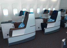 Hella Jongerius designs business class cabin for KLM