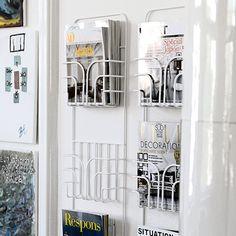 Now Magazine Rack - White - by Maze Interior #MONOQI