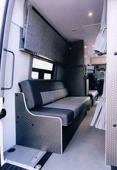 Sportsmobile Custom Camper Vans - Band Vans COOL WEBSITE