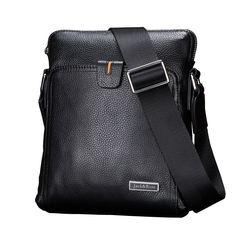 4300f7139d8 Casual genuine leather men bags business fashion men messenger bag brand  designer men s shoulder bag.