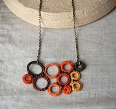 Crochet is all the rage- look at this cool twist.
