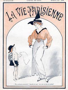 René Préjelan. La Vie Parisienne, 5 Juin 1915. [Pinned 6-vi-2015]
