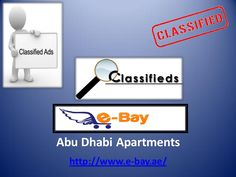 To Get Best Information About Abu Dhabi Apartments @ http://www.e-bay.ae/