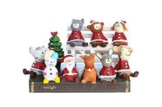 Zakka Animal Ornaments Micro Landscape Decorative Gifts for Christmas (1 set 10 pieces) http://www.amazon.com/dp/B017AT90Q8