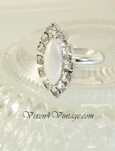 Vintage Sarah Coventry Marquis Faux Pearl Rhinestone. Starting at $1 on Tophatter.com!