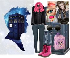 """""""Meting the doctor"""" by julchan ❤ liked on Polyvore"""