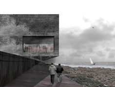 Alex McCann (2011): South Gare Visitor Centre, Teeside (UK), via Behance.com