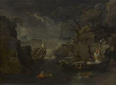 Nicolas Poussin (1595-1665) Le Déluge ou l'Hiver