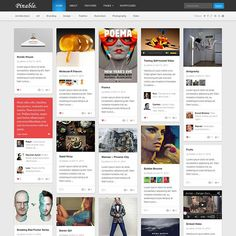 Check out Pinable - WordPress Magazine Theme by theme_junkie on Creative Market