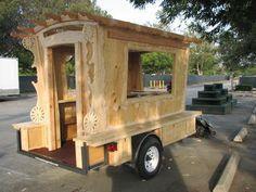 Building mini gypsy caravan
